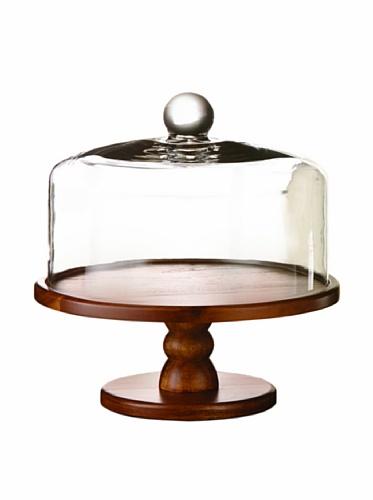 American Atelier Madera Pedestal Cake Plate