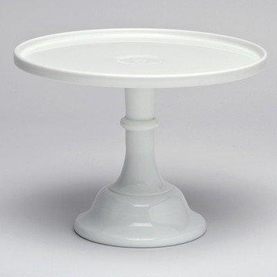 Mosser Glass 10 Milk Glass Cake Platestand
