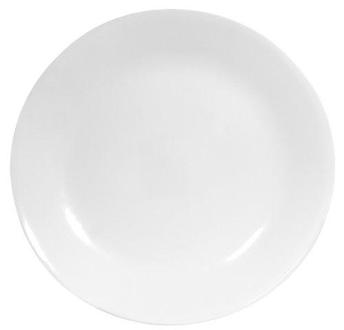 Corelle Livingware 6-Piece Dinner Plate Set Winter Frost White