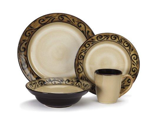 Cuisinart Stoneware Isere Collection 16-Piece Dinnerware Sets