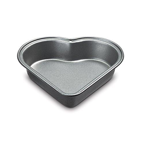 Cuisinart CMBM-4HRT1 4-Pc Mini Heart Pan Set Small Black