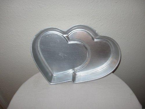 Wilton Cake Pan Double Hearts