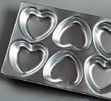 Wilton Mini Heart Pan