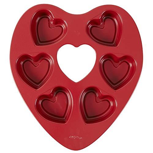 Wilton Mini Heart Pan 6-Cavity