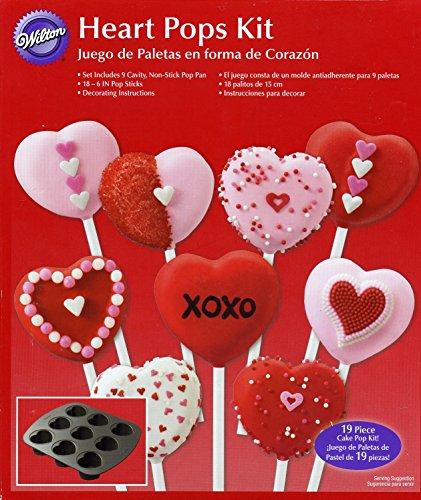 Wilton - Heart Pops Kit - Pan Sticks
