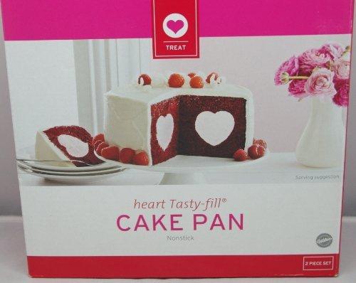 Wilton Heart Tasty-fill Cake Pan Nonstick
