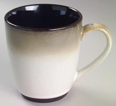 Sango Nova Black Dinnerware 10 Oz Coffee Mug