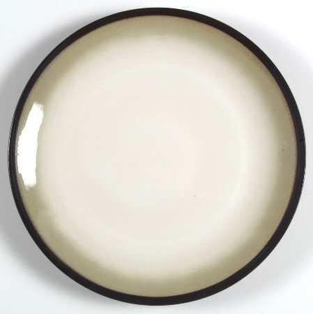 Sango Nova Black Dinnerware Salad Plates - Set of 4
