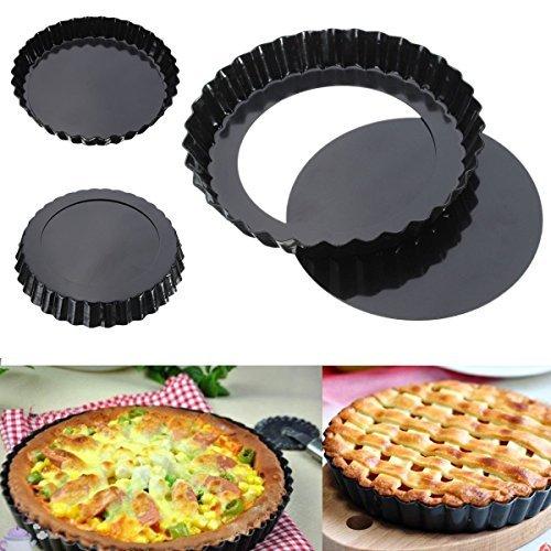 Bulfyss Bakeware Pie Dish Tart Pan With Removable Bottom 20cm