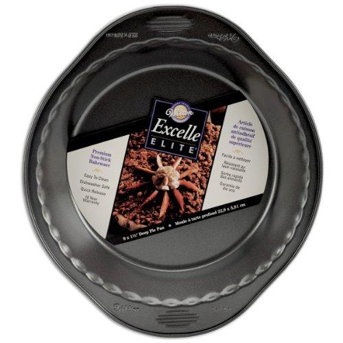 Wilton Excelle Elite 9 Inch x 15 Inch Deep Pie Pan