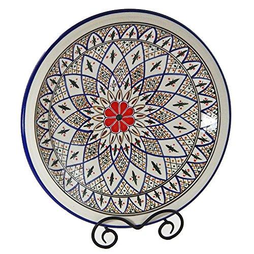 Le Souk Ceramique Large Serving Bowl Tabarka Design