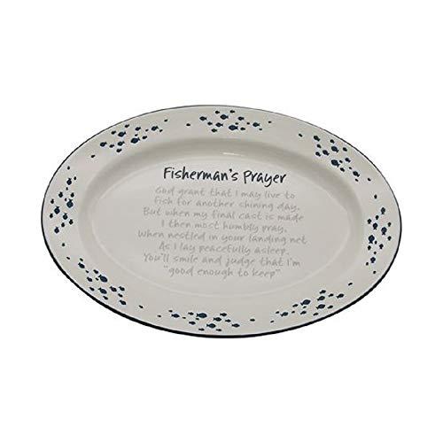 DEI 11324 Ceramic Platter 1425 x 1025 x 15 BlueWhite