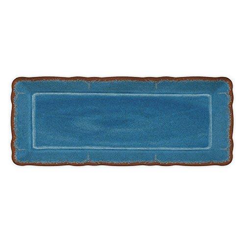 Le Cadeaux Antiqua Baguette Tray Blue