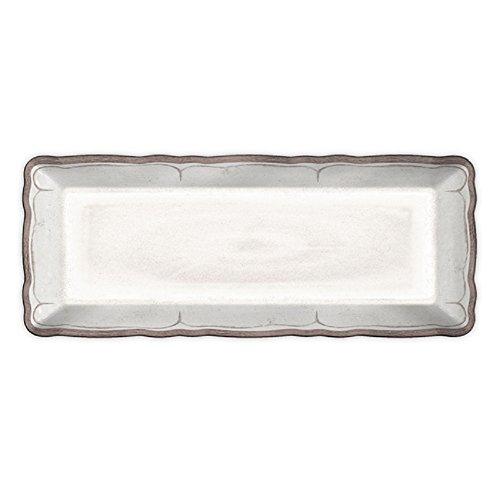 Le Cadeaux Rustica Antique Baguette Tray White