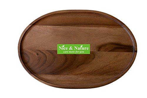 Acacia Tray Wood Appetizer Platter Acacia Wood Curved Oval Serving Tray Acacia Wood Oval Serving Tray Acacia Oval Serving Platter