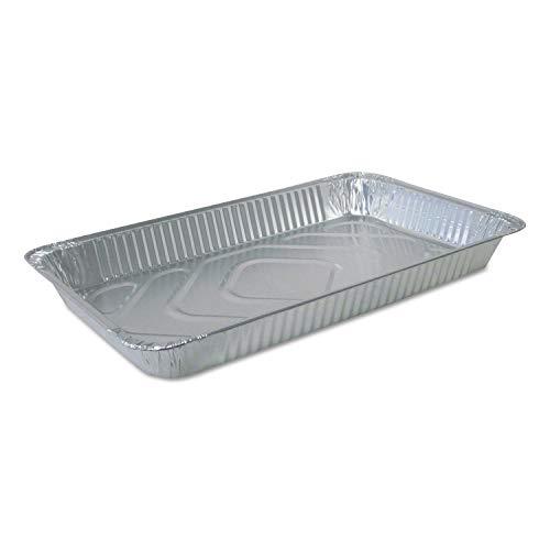 Durable Packaging FS780070 Aluminum Steam Table Pans Full Size Medium 50Carton