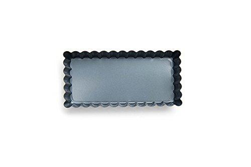 Fox Run 44491 Mini Rectangular Loose Bottom TartQuiche Pan Preferred Non-Stick 45-Inch