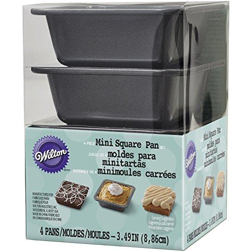 Wilton 2105-4637 Square Pie Pan Set Mini