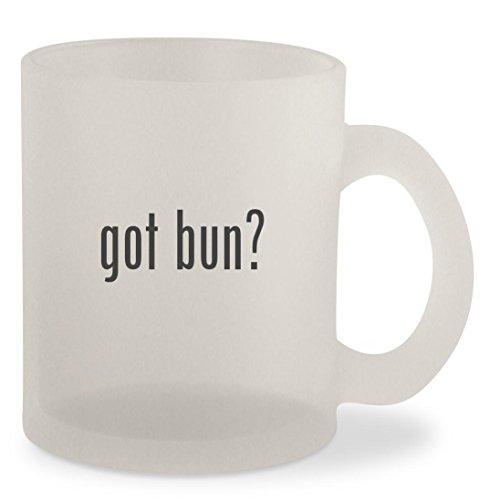 got bun - Frosted 10oz Glass Coffee Cup Mug