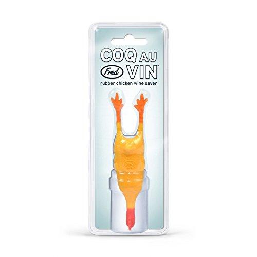 Fred Friends COQ AU VIN Wine Bottle Stopper