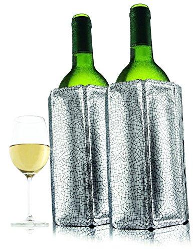 Vacu Vin Active Wine Cooler Silver Set of 2