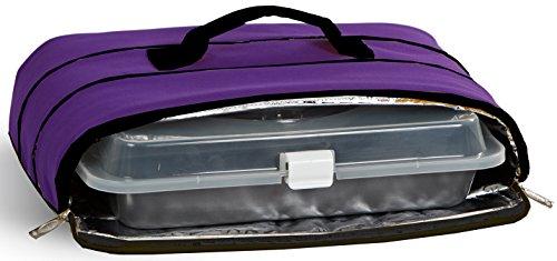 Casserole Carrier in Purple
