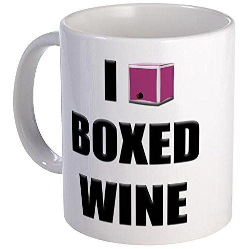 CafePress I Love Boxed Wine Mug Unique Coffee Mug Coffee Cup