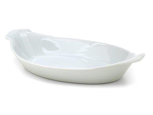 Hic 98047 Porcelain Oval Au Gratin Dish 12-12