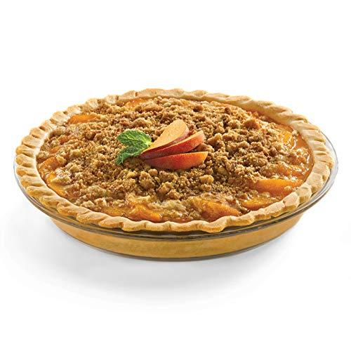 Libbey Bakers Basics 2-piece Glass Pie Plate Set Renewed