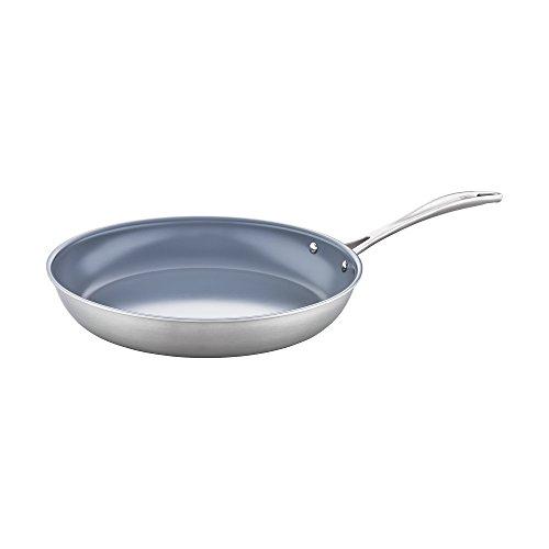 ZWILLING Spirit 3-ply 12 Stainless Steel Ceramic Nonstick Fry Pan