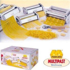 Multipast Wellness Pasta Machine Set By Atlas Marcato