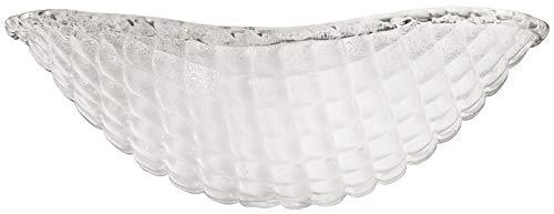 Kichler 340108 Piastra White Sand Crystal Glass Bowl
