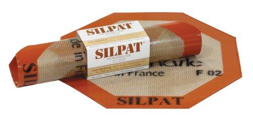 Silpat Non-Stick Silicone Microwave Baking Mat 1025 Diameter Octagon