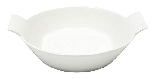 White Basics Collection Monaco Au Gratin Dish 6 White