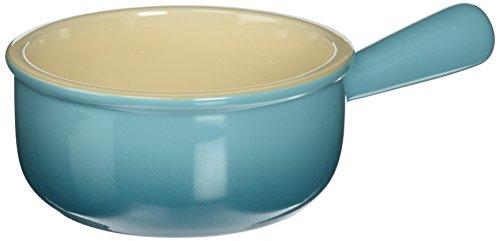 Le Creuset PG1175-1617 Stoneware French Onion Soup Bowl 16-Ounce Caribbean