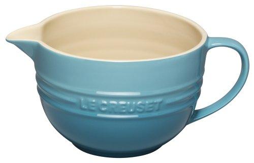 Le Creuset PG4000-1617 Stoneware Batter Bowl 2-Quart Caribbean