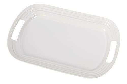 Le Creuset Stoneware 16 Oval Serving Platter White
