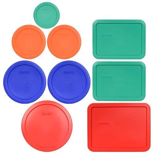 Pyrex 1 7402-PC 67 Cup Red 2 7201-PC 4 Cup Cadet Blue 2 7200-PC 2 Cup Orange 1 7202-PC 1 Cup Green 2 7210-PC 3 Cup Light Green 1 7211-PC 6 Cup Red Food Storage Lids