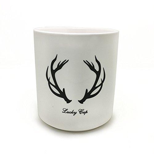 BGT Dia 433 Inch Ceramic Utensil Crock Kitchen Utensil Holder White