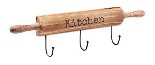 AdirHome Kitchen Utensil Pot Hook Rack