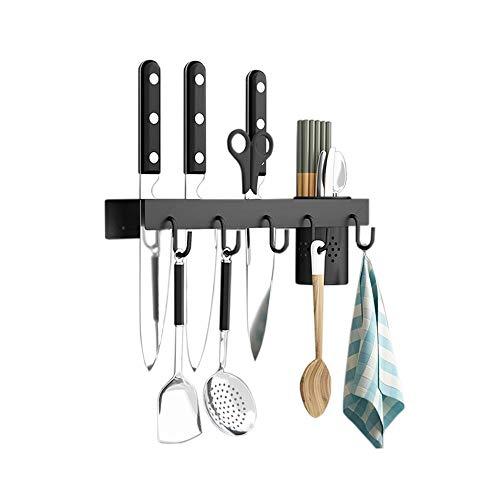 Knife Holder Adbiu Kitchen Utensil Holder Stainless Steel Wall Mounted Kitchen Knives Storage