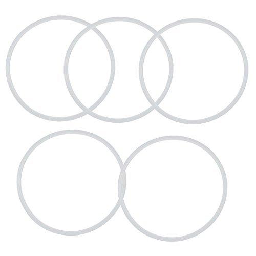 Kitchen Pressure Cooker Rubber Gasket Sealing Ring 30cm Inner Dia 5pcs