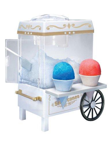 Brand New Nostalgia Snow Cone Maker Ice Shaver Machine Cart Electric Slushie Icee Shaver