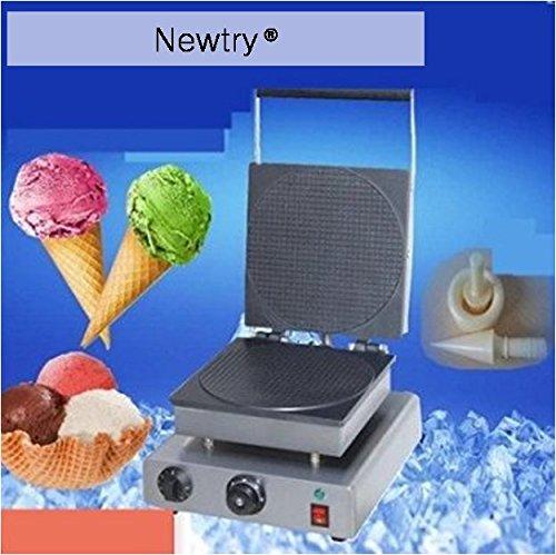 Newtry FY-2209A Crispy Egg Roll Machine Ice Cream Cone maker Circle Waffle Maker Cone Egg Roll Maker 110V