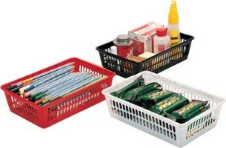 Classic Multiuse Plastic Storage Baskets  Drawer Organizer 4 Height 212 Inch Width 6 Inch Length 9 Inch