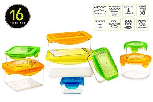 Titan 16 Piece Food Storage Box Set