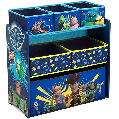 Delta Children Design and Store 6-Bin Toy Storage Organizer DisneyPixar Toy Story 4