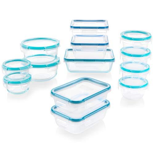 Snapware 1136615 Pyrex Glass and Plastic Food Storage Set 26 pieces