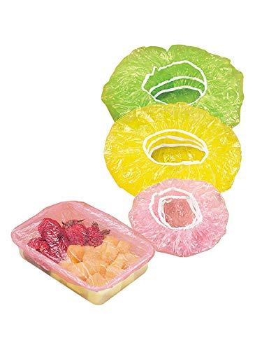 Trenton Elastic Plastic Food Covers  Set of 24  8 Small 8 Medium 8 Large