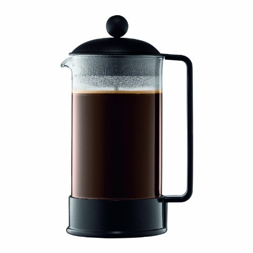 Bodum Brazil 8-Cup French Press Coffee Maker 34-Ounce Black